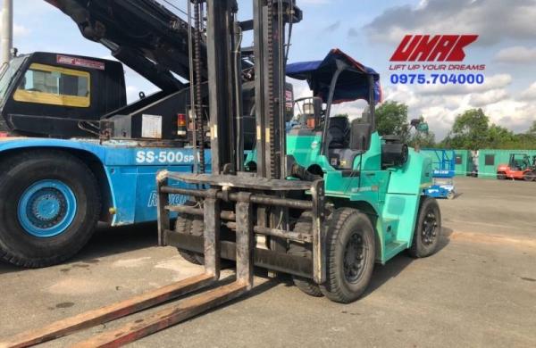 Thuê xe nâng hàng, nâng đa năng, rút container tại Long Sơn - Vũng Tàu