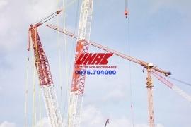 Cho thuê cẩu bánh xích 600 tấn trên cả nước - UMAC Việt Nam