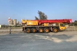 UMAC Việt Nam chuyên cung ứng và cho thuê xe cẩu 120 tấn bánh lốp uy tín tại hồ chí minh