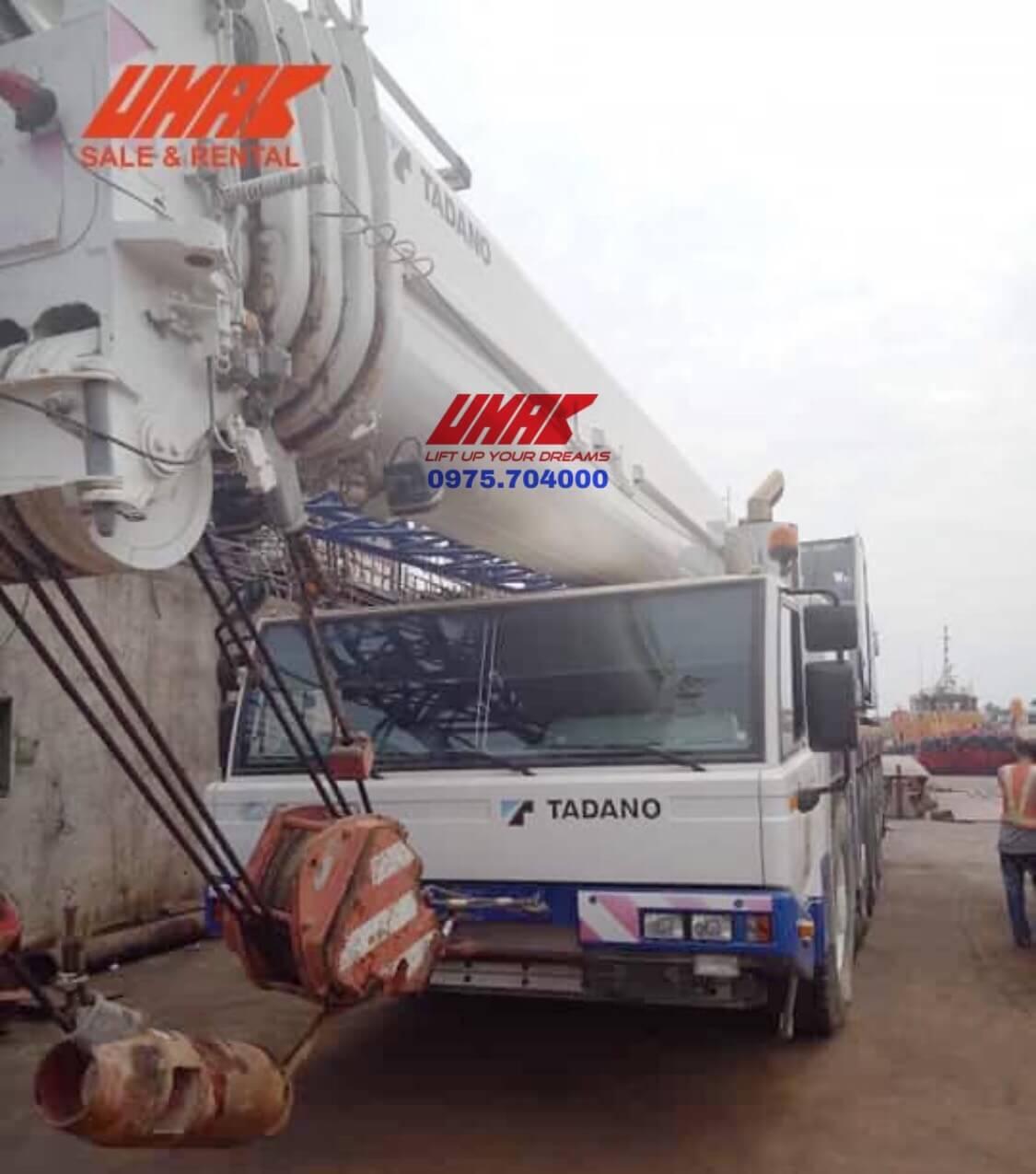 xe cẩu cũ 110 tấn tadano