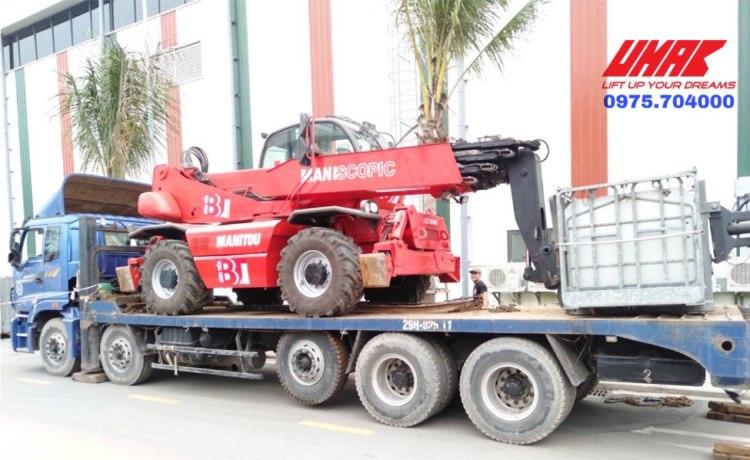 Xe nâng đa năng 5 tấn