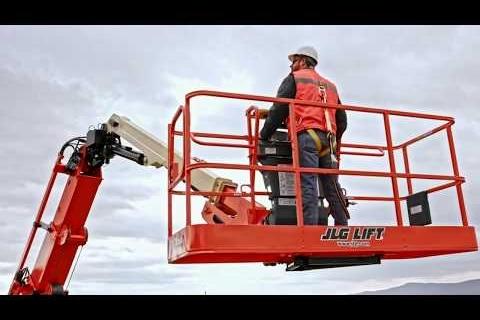 Giới thiệu xe nâng người JLG - Mỹ